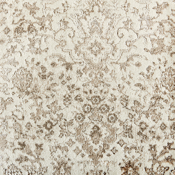 Stillwater Woven Custom Rug - Cream Beach