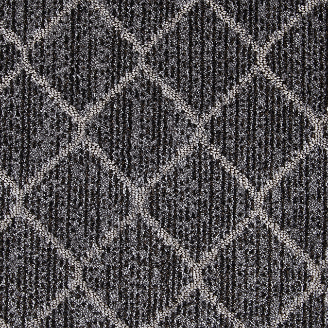 Synthesis Woven Custom Rug - Black Stone