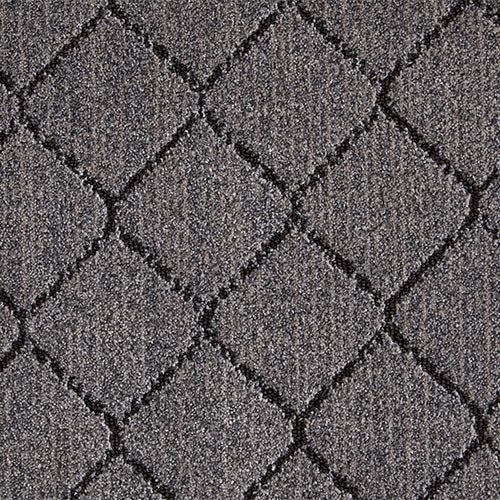 Synthesis Woven Custom Rug - Charcoal