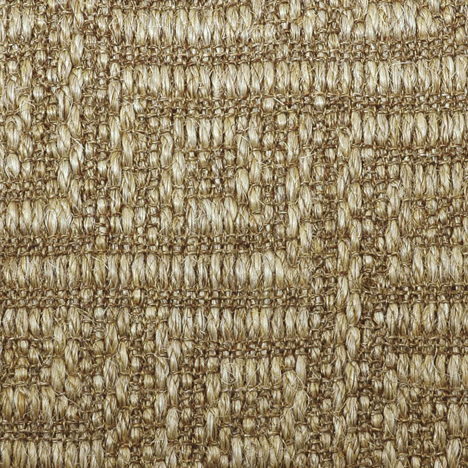 Fibreworks® Custom  100% Sisal Rug with Matching Serged Border or Other Border Options - Studio Key - Timber Dust 4632