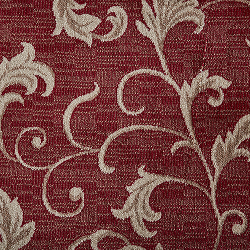 Apollo Woven Rug - Red/Taupe Cherry