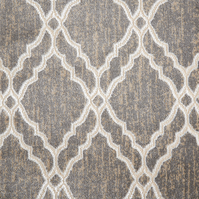 Clifton Woven Custom Rug - Grey/Beige Mist