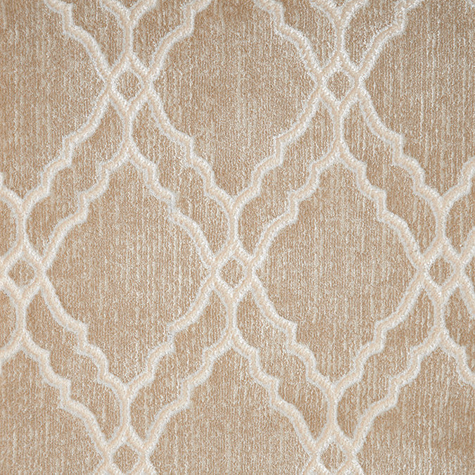 Clifton Woven Custom Rug - Cream/White Opal