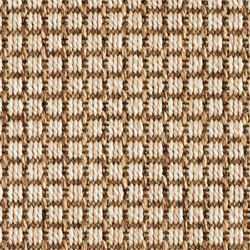 High-Performance All Weather Indoor/Outdoor Custom Rug with UV Resistant Standard Edge Finish -De Janeiro - Cedar