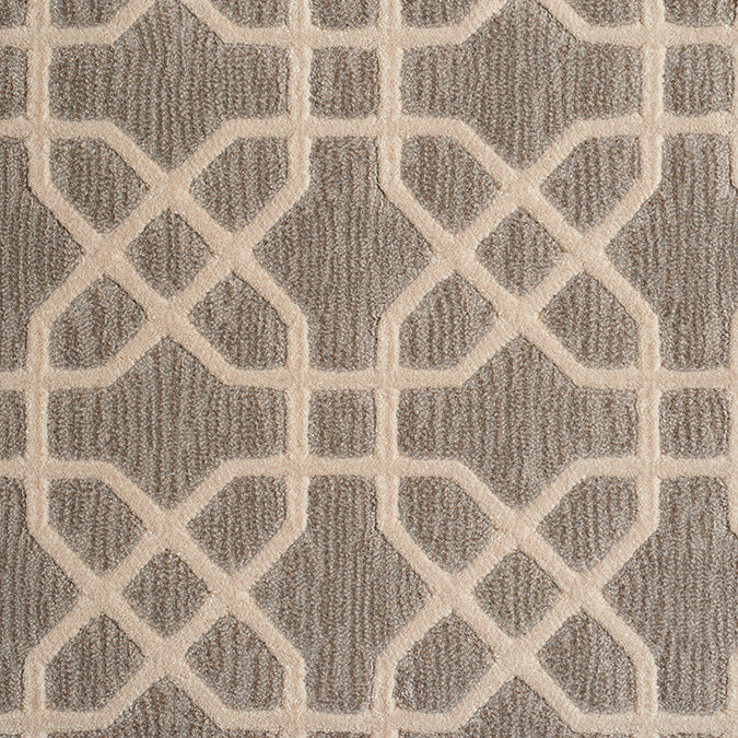 Equinox Woven Custom Rug - Grey/Cream Dusk