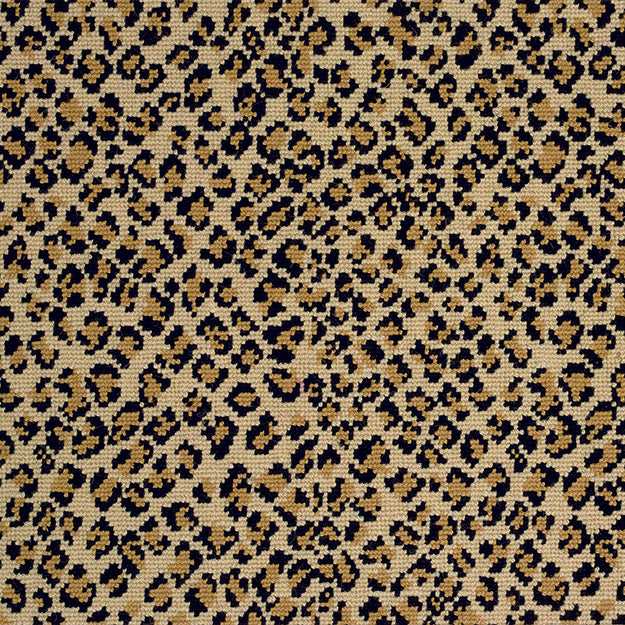 Felix Premium Wool Blend Custom Rug - True Leopard