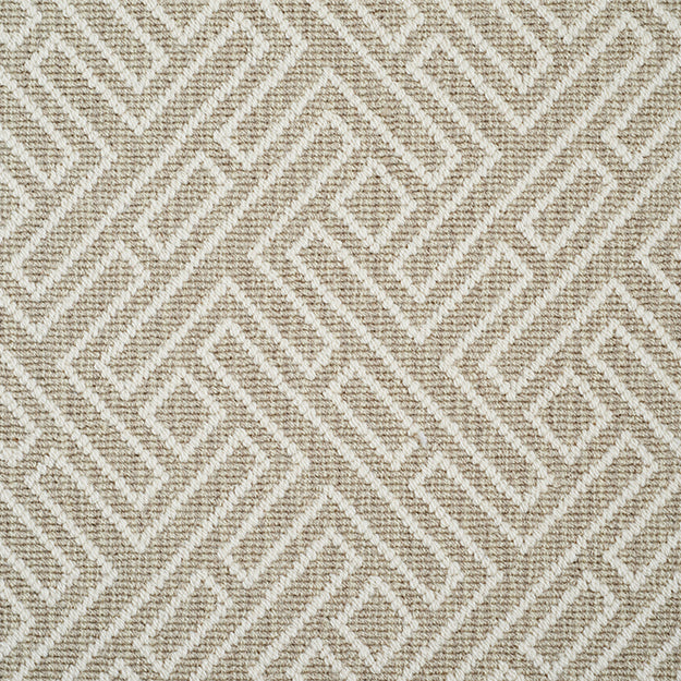 Hunter Hill Premium Wool Blend Custom Rug - Flax