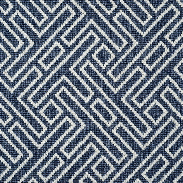Hunter Hill Premium Wool Blend Custom Rug - Marine