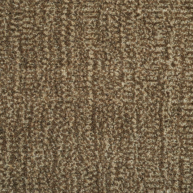 Lotus Woven Wool Custom Rug - Walnut