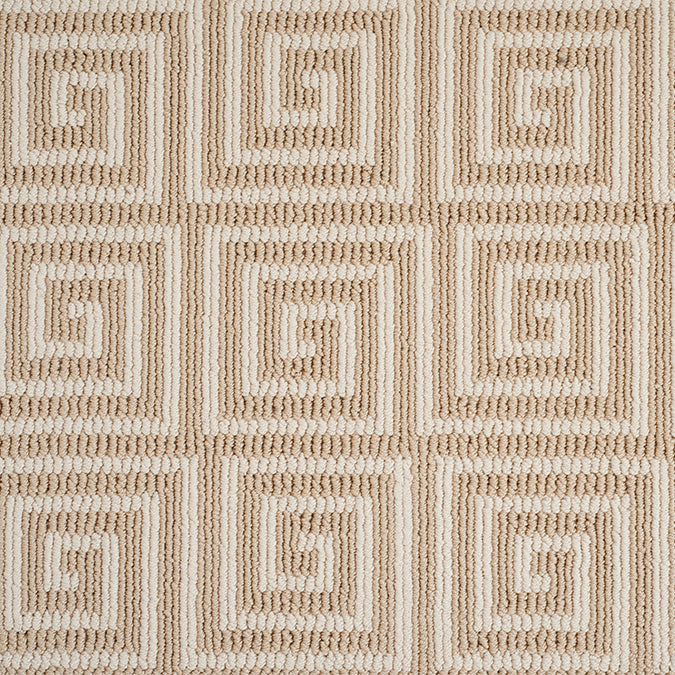 Pioneer Key Tufted Custom Rug - Champaign