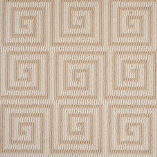 Pioneer Key Tufted Custom Rug - Sandstone