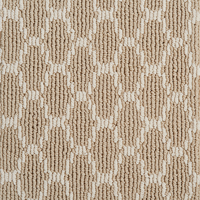 Pioneer Interlock Tufted Custom Rug - Champaign