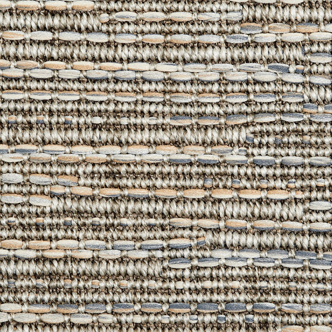 High-Performance All-Weather Indoor/Outdoor Custom Rug with UV Resistant Standard Edge Finish - Seville Quartz