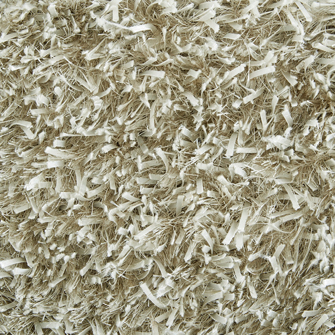 Shaggy Majestic Woven Custom Shag Rug - Taupe Alabaster