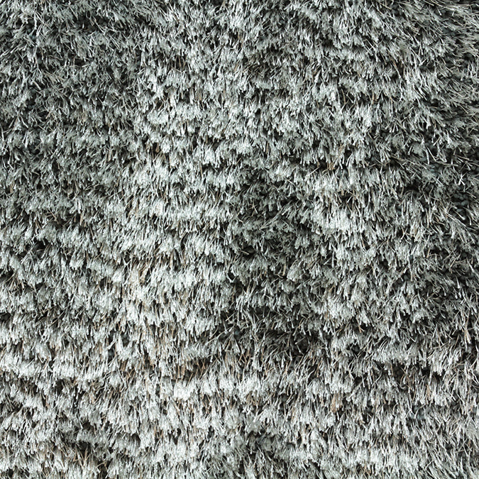 Shaggy Pop Woven Custom Shag Rug - Light Grey Mineral