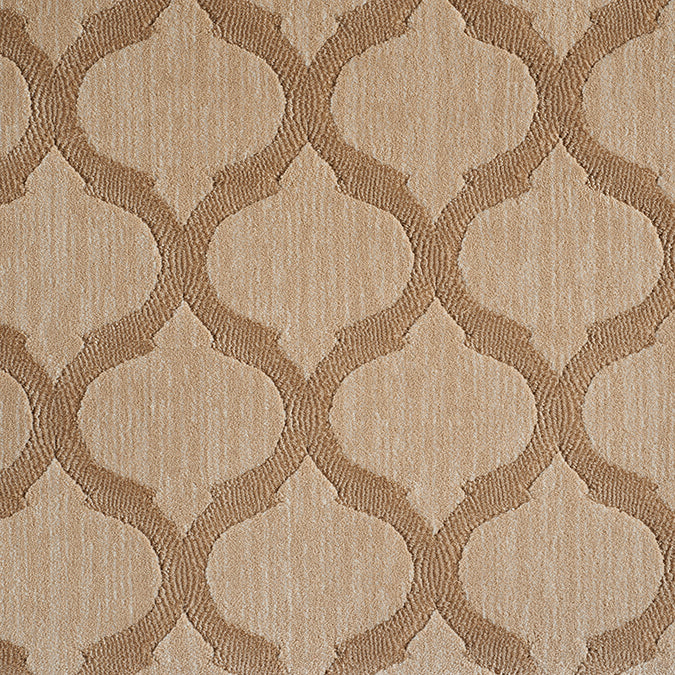Sigma Woven Custom Rug - Beige/Tan Wheat