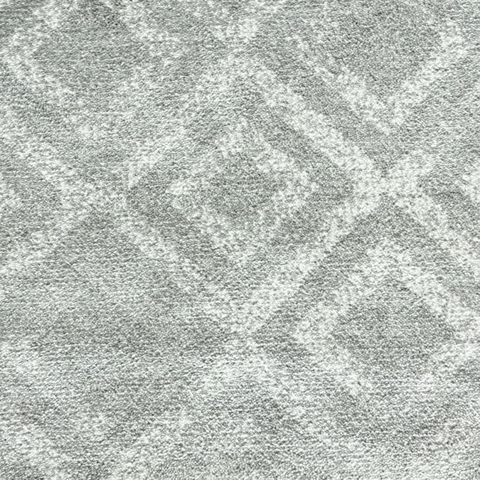 Sphinx Woven Custom Rug - Grey/White Dove