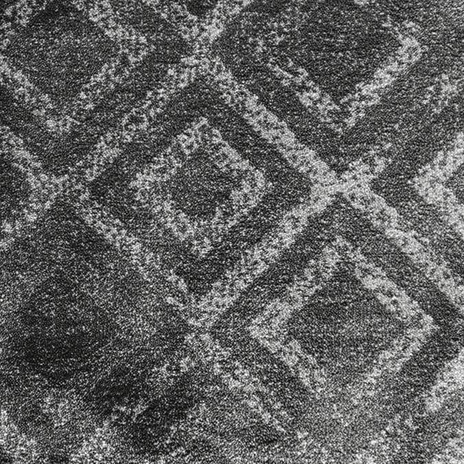 Sphinx Woven Custom Rug - Dark Grey Platinum