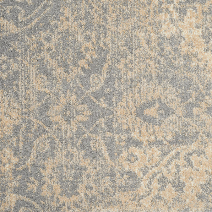 Sutton Woven Custom Rug - Blue/Cream Wedgewood