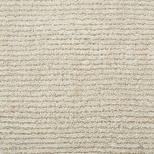 Thacher Hand-Loomed Wool Blend Custom Rug - Buttermilk