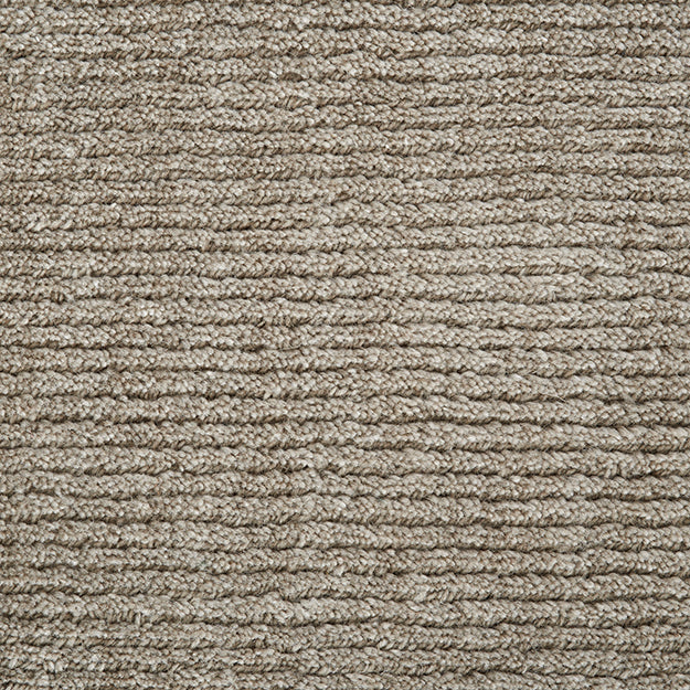 Thacher Hand-Loomed Wool Blend Custom Rug - Fossil