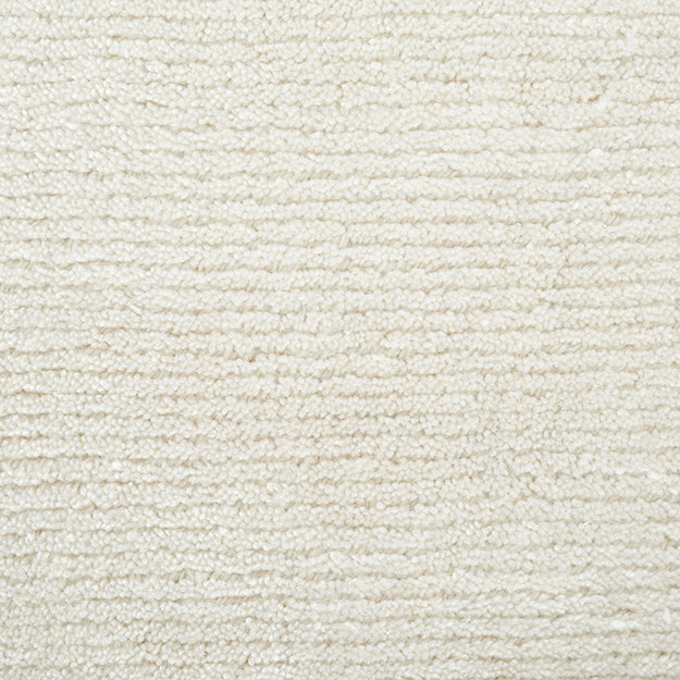 Thacher Hand-Loomed Wool Blend Custom Rug - Natural
