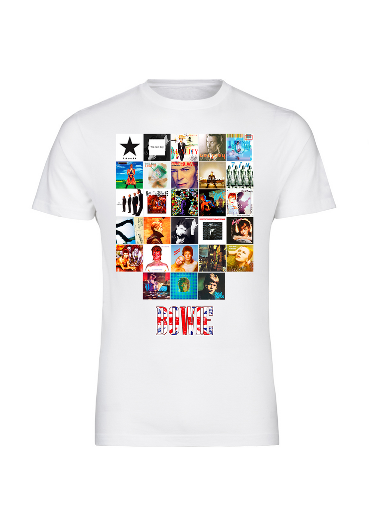 28c5bd07c ... Bowie Inspired Album Art T-Shirt - FireFish Design ...