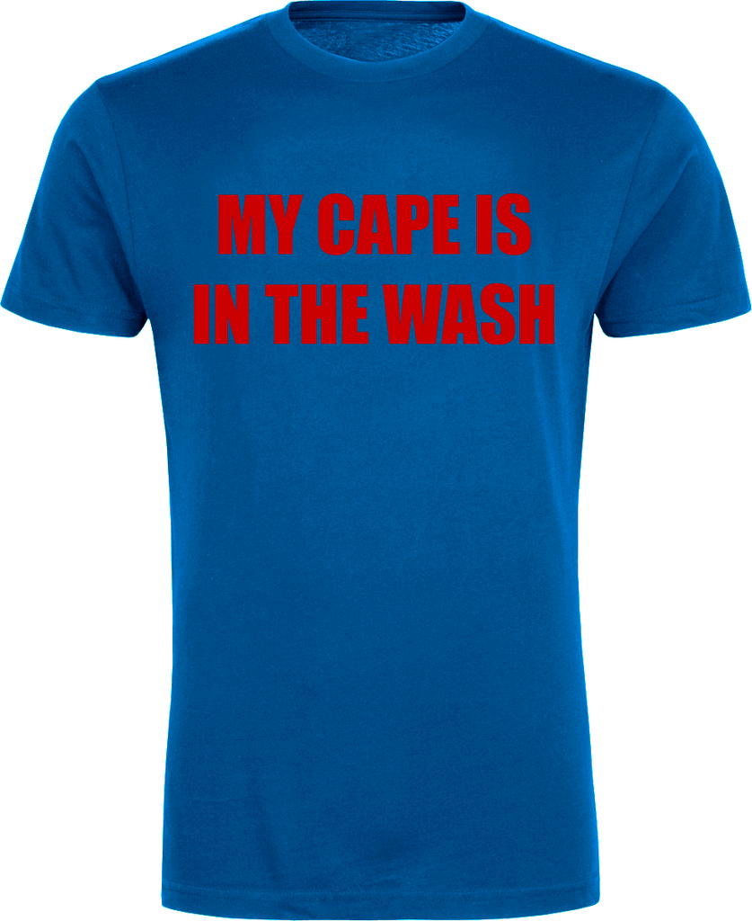 d7a4e3381 My Cape is in the Wash Superhero T-Shirt - FireFish Design