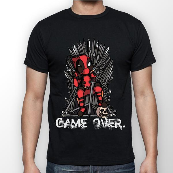 4a6c94d9c Deadpool Game of Thrones Parody T-Shirt - FireFish Design