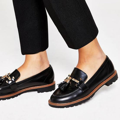 Tassel Flat Loafer