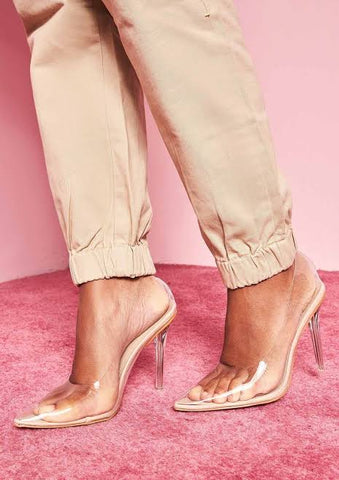 Nude Pointed Heels