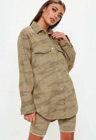 Camo Denim Shirt