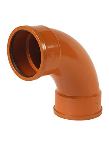 110mm Underground Drainage 92.5 Degree Double Socket Bend