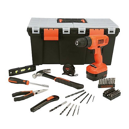 62 piece project kit black and decker