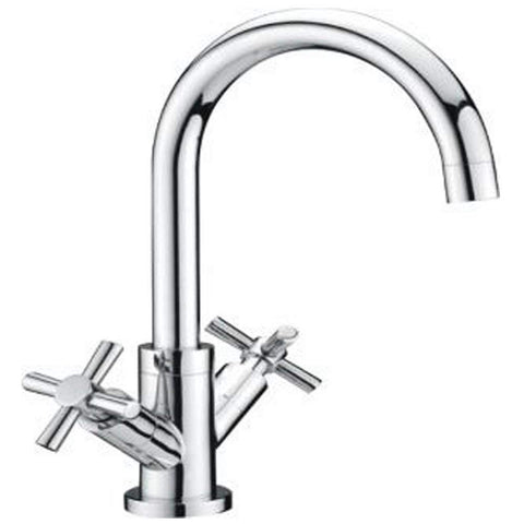 Modern Kitchen sink mixer Brass Taps I77 - Chrome Finish