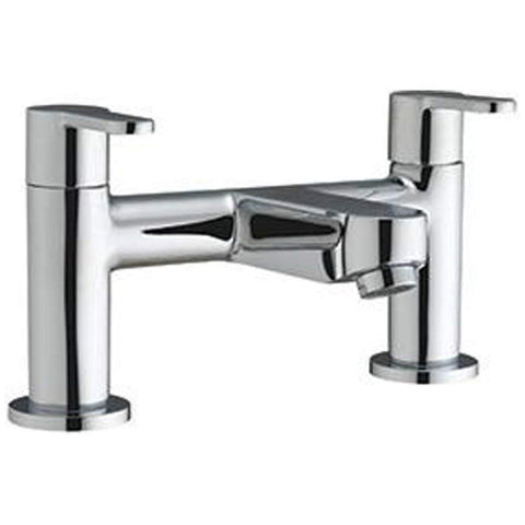 Modern Bath Filler Brass Mixer Tap SG03 - Chrome Finish