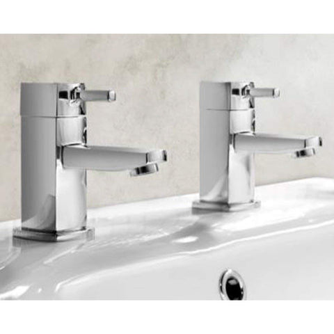 Modern Bath Brass Taps Y01 - Chrome Finish