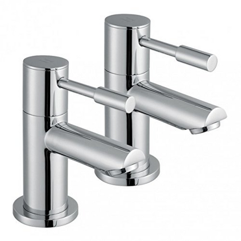 Modern Basin Brass Taps F02 - Chrome Finish