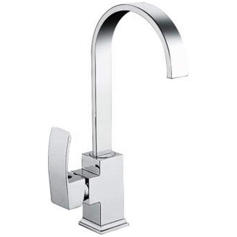 Modern Kitchen sink mixer Brass Taps S77 - Chrome Finish