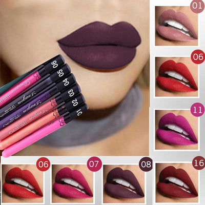 Waterproof Liquid Matte Lipstick