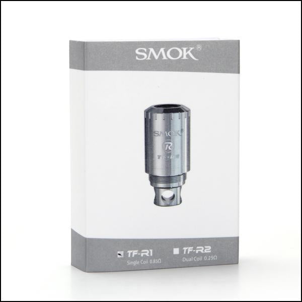Authentic SMOK TFV4 Tank TF-R1 &R2 Rebuildable Single Coil Head 0.85ohm Dual Coil Head RBA Deck Kit