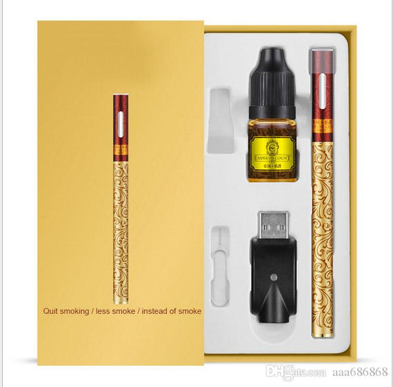 electronic cigarette starter packs battery capacity 280mah atomizer