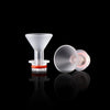 New Acrylic Drip Tip Cup Style ecig cigarette Mouthpiece 510 wide bore drip tip Accessories for RDA RBA ce4 ego vaporizer atomizers