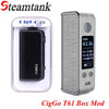 Wholesale-Original CigGo T61 TC Box Mod Elektronik Sigara 61W OLED Screen VV VT BYPASS Vape Mod Fit 18650 VS rx 200 rx 2/3 ego aio Vape