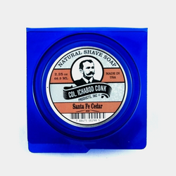 Col. Conk Natural Shave Soap | Santa Fe Cedar 66ml