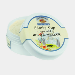 Dovo Merkur | Cibe Fiori & Frutta Shaving Soap | Mint Natural Oils Jar 150ml