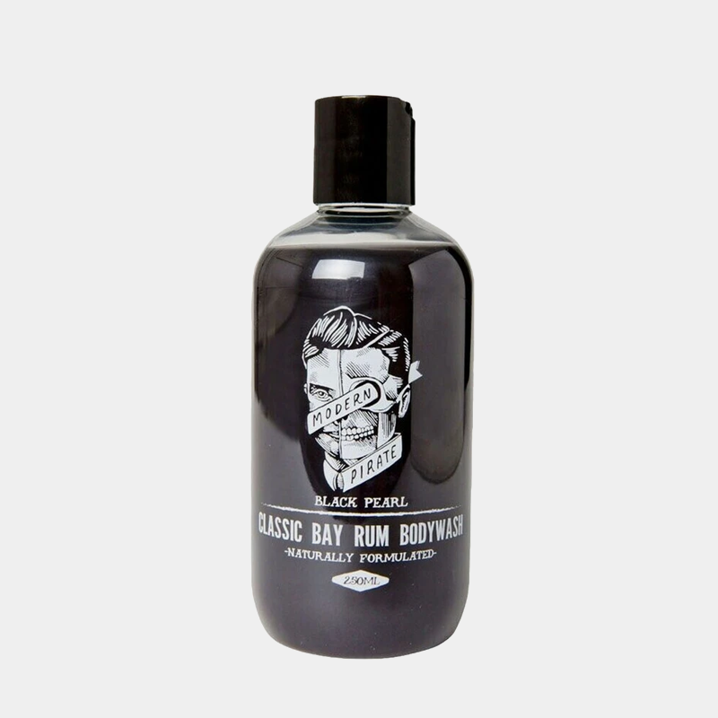 MODERN PIRATE | BLACK PEARL / CLASSIC BAY RUM BODY WASH