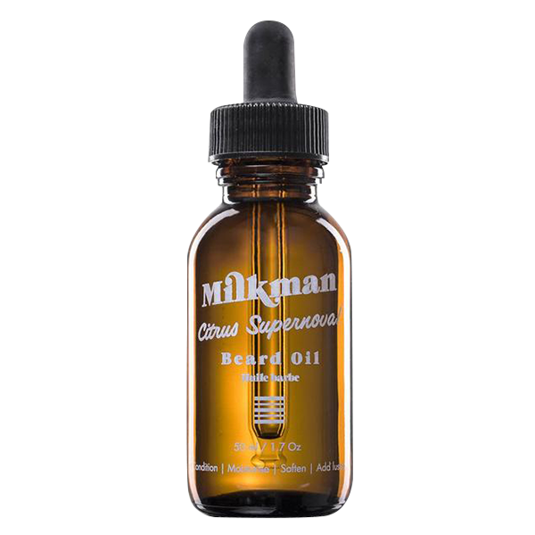 Milkman Grooming Co. Beard Oil, Citrus Supernova (50 mL )