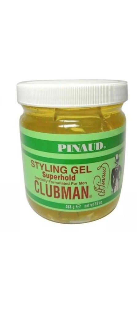 Clubman Pinaud Super Hold Styling Gel 16 oz. - Barbersupplies & Co
