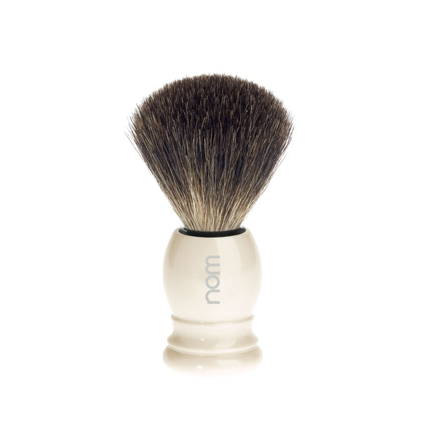 NOM by Muhle Pure Badger Ivory Brush